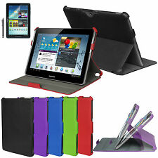 Multi-Angle Stand Leather Case Cover for Samsung Galaxy Tab 2 10.1 P5100 P5110