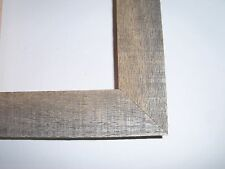 """1.5"""" Weathered Age Reclaimed Oak Barn Wood Picture Frame-Vintage-Square Sizes"""