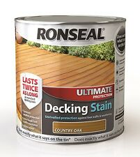 Ronseal Ultimate Protection Decking Stain 2.5L - In 12 Natural Colours