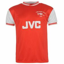 Score Draw Mens Arsenal 1985 Home Centenary Foootball Shirt T-Shirt Top