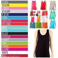 Women Loose Fit Tank Top 100% Cotton Available in S, M and L