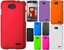 T-Mobile LG Optimus L90 Rubberized HARD Protector Case Cover + Screen Protector