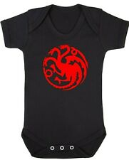 BABY BOY,GIRL,GAME OF THRONES VEST,BABYGROW,ROMPER,GIFT,BABY CLOTHES