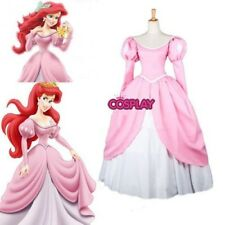 Princess Mermaid princess Ariel Pink Lovely Dress Cosplay Made Costume