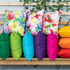 OUTDOOR Garden CUSHION Furniture Cane Filled CUSHIONS Seat bench WATER RESISTANT