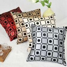 45x45 Square Dot Silk Pillow Throw Case Car Cushion Cover Decoration Sofa Bed