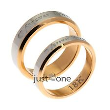 Newest Alloy Engagement Matching Forever Love Wedding Ring Set for Lover Couple