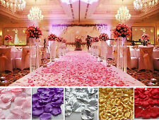 Wholesale Various Colors Silk Flower Rose Petals Wedding Party Decorations K