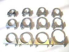 U Bolt Heavy Duty Universal Exhaust Clamps (U-Bolt BZP) 28mm - 77mm Clamp Sizes