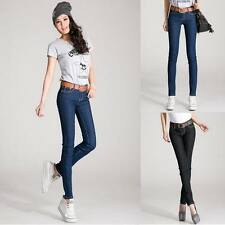 Womens FASHION Slim Fitted Denim Sexy Skinny Jeans Pencil Pants Trousers NEW