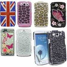 Luxury Rhinestone Crystal Diamond Hard Case Cover+Film For Various Mobile Phone