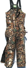New CABELA'S REVOULUTION Fleece Dry-Plus Insulated Hunting BIBS sz M, L, XL
