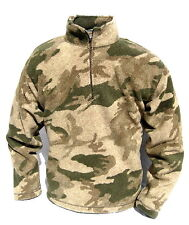 New Cabela's Outfitter's Micro Berber 1/4 Zip WindShear Pullover Hunting Jacket