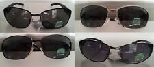 Pugs Sunglasses Metal and Plastic Frames  Black, Chrome with Gray or Purple Lens
