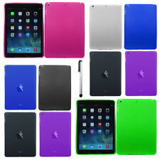 Soft Case Cover Silicone Candy Solid Accessory For Apple iPad Air Phone + Pen
