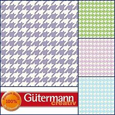 100% Cotton Fabric Notting Hill Collection Houndstooth & Plaid Gingham Gutermann