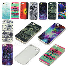New Cute Patterned Rubber TPU Back Protect Soft Skin Case Cover