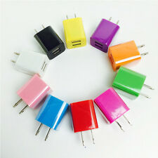 2-Ports 2.1A+1A Dual USB AC Wall Charger Adapter US Plug For Samsung/iPad/iPhone