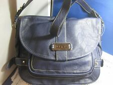 NWT NEW $65 ROSETTI FRAME GAME FASHION HANDBAG ZIPPER TOP MULTI SECTION