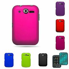 For PANTECH P9060 POCKET Hard Rubberized Snap-On Phone Case Cover