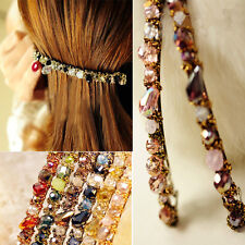 Women Lady Barrette Hairpin Hair Clip Korean Fashion Crystal Headdress Accessory