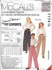 McCall's 7174 Sewing Pattern Uncut Misses Palmer Pletsch 1-Hour Pants