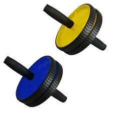 ABS ABDOMINAL ROLLER EXERCISE WHEEL GYM FITNESS MACHINE BODY STRENGTH TRAINING