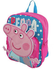 Kids Girls Cute Peppa Pig Cartoon School Bag Bookbag Backpack Shoulder bag