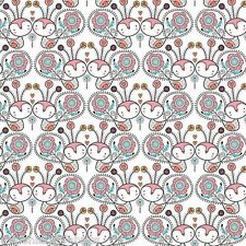 Petite Plume Cute Butterflies On White Background,By Camelot,100% Cotton Fabric
