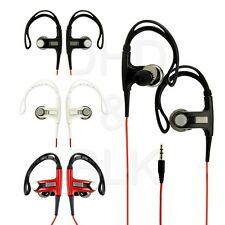 New Stereo Sport Hook In-Ear Earphone Earbud Headset For Cell Phone MP3 4 Player