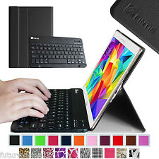 Bluetooth Keyboard Leather Case Cover for Samsung Galaxy Tab S 10.5 inch Tablet