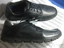 NEW  ROCKPORT Rocsports Lite Moc Toe Mens  Leather Oxfords Shoes MANY SIZES