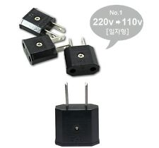 Travel Adapter Plug in convert 220v to 110v Adapter Charger USA EU Free Gift