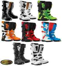 Thor Boots Motocross Blitz or Ratchet Mx Dirtbike Size 7 8 9 10 11 12 13 14