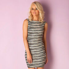 Lipsy Ripple Bodycon Dress In Black From Get The Label SY1