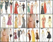 OOP Vogue Sewing Pattern Misses Dress Formal Party Cocktail Evening Wear You Pic
