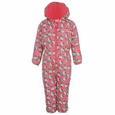 BNWT ~~Girls HELLO KITTY padded snowsuit / all-in-one coat~~ ages 2 - 8 years