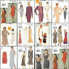 OOP Vogue Sewing Pattern Dress Various Misses Dresses You Pick