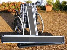 7ft/2.1m Folding Telescopic  Wheelchair Travel Mobility Scooter Channel Ramps