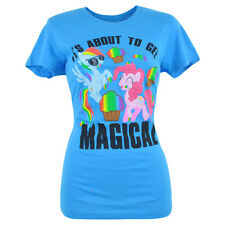 My Little Pony Its About To Get Magical Rainbow Dash Women Ladies Tshirt