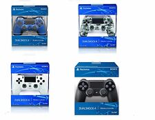 Sony PS4 DualShock 4 Wireless Controller for Playstation 4 Black Wave Blue White