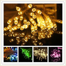 5M 50 LED AA Battery Powered  Fairy Light String Xmas Wedding Decoration