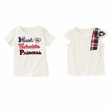 Gymboree Homecoming Kitty Tops,Most Valuable,Plaid Bow BTS 3 4 5 6 7 8 9 NWT