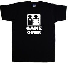 Game Over Wedding Funny T-Shirt