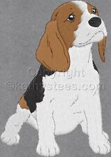 Beagle Dogs  - Machine Embroidery Designs Set of 10 On CD