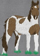 Mustang Horses  Machine Embroidery Designs Set of 11 On CD