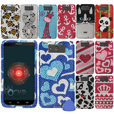 Hard Protector Bing Case Cover For Motorola Droid MAXX XT1080M Phone, Cat + Tool