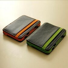 Latest trend Fashion design small portable wallet magic wallet card package CA