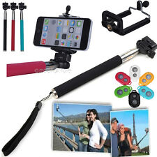 Monopod Extendable Handheld Holder+Bluetooth Remote Control Shutter For Phone