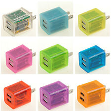 2.1A LED Dual USB 2 Port Wall Adapter Charger for Samsung Galaxy S4 S5 Note3 Tab